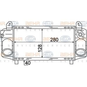 Hella Ladeluftkühler Audi A2 kaufen - Autoteile-Preiswert