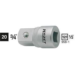 """Hazet Adapter 1/2"""" auf 3/4"""""""