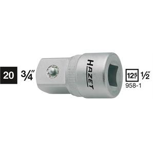 Hazet Adapter 1/2 auf 3/4 Zoll