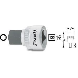 Hazet Bit Einsatz 1/2 Zoll 6-Kant 17mm