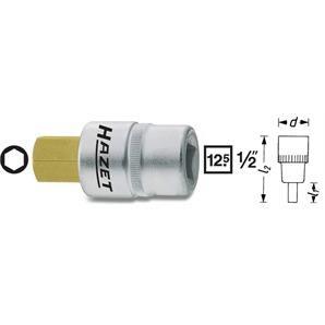 Hazet Bit Einsatz 1/2 Zoll 6-Kant 10mm beschichtet