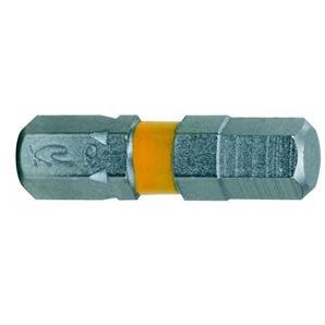 """KS Tools 1/4"""" Bit Sechskant 25mm 6mm"""