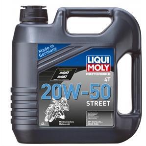 Liqui Moly Street 4T 20 W-50 4 Liter