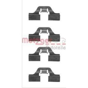 Montagesatz für Bremsbeläge hinten