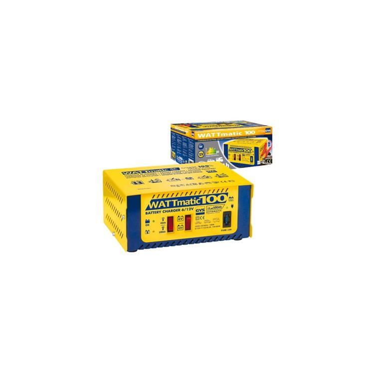 GYS Batterie Ladegerät Wattmatic 100 6-12V 15-100Ah vollaut.