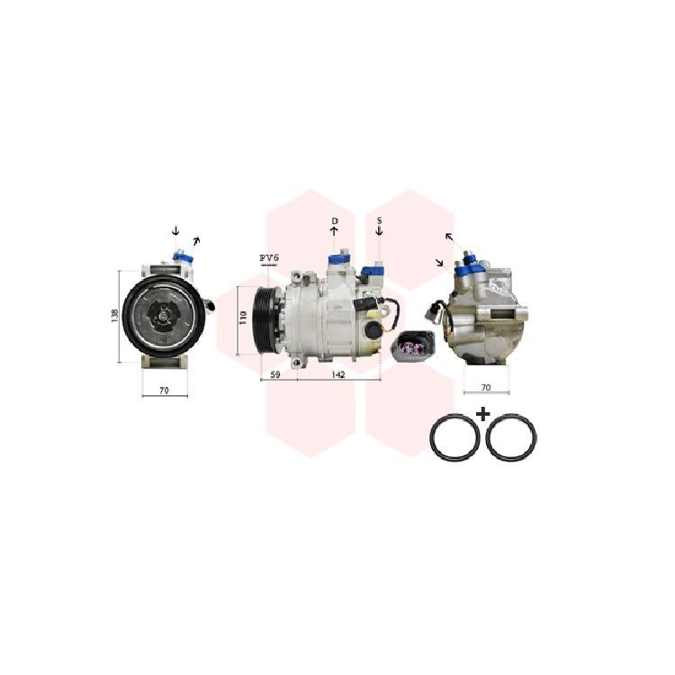 Van Wezel Klimakompressor 0300K029 im Autoteile Preiswert Shop kaufen und sparen!