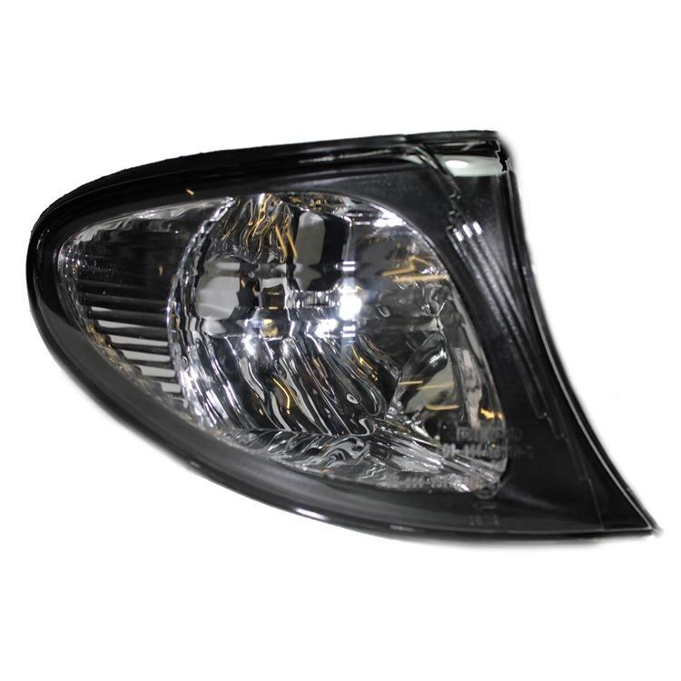 Blinkleuchte rechts weiß Rahmen schwarz BMW 3