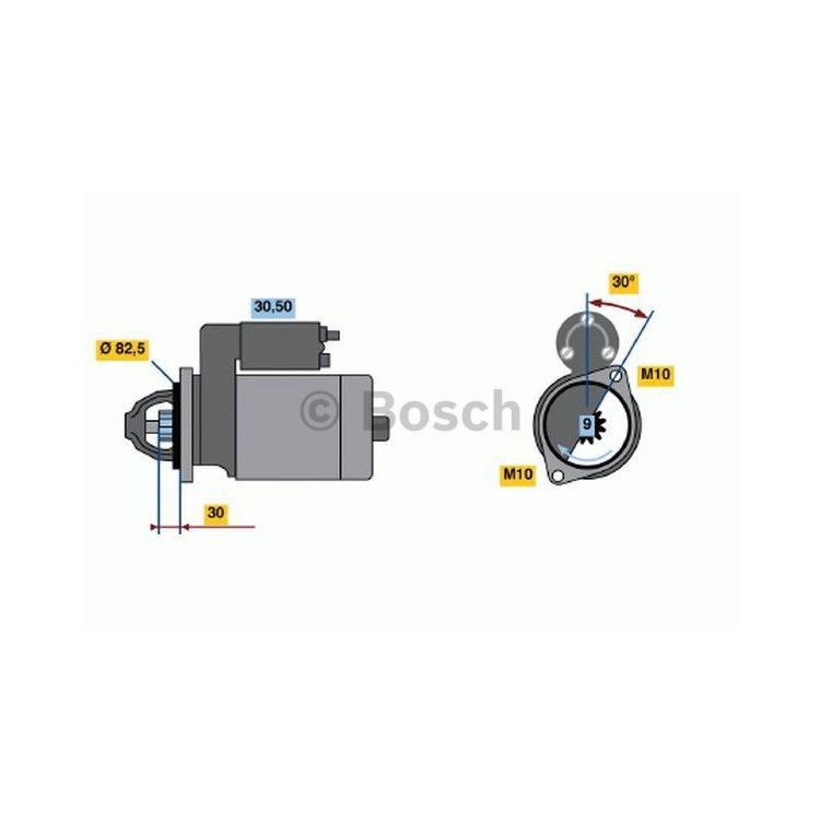 Bosch Anlasser 0986013010 im Autoteile Preiswert Shop kaufen und sparen!