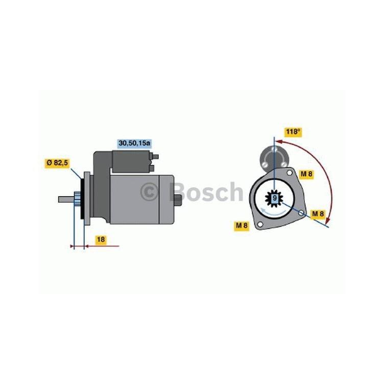 Bosch Anlasser 0986013470 im Autoteile Preiswert Shop kaufen und sparen!