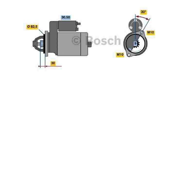 Bosch Anlasser 0986016380 im Autoteile Preiswert Shop kaufen und sparen!
