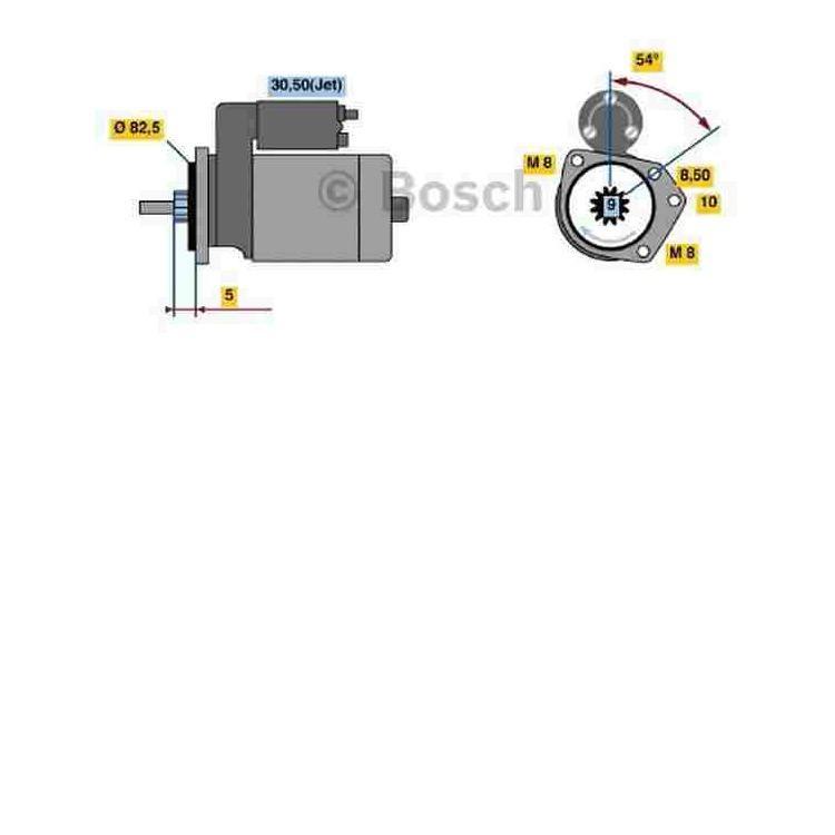 Bosch Anlasser 0986016800 im Autoteile Preiswert Shop kaufen und sparen!