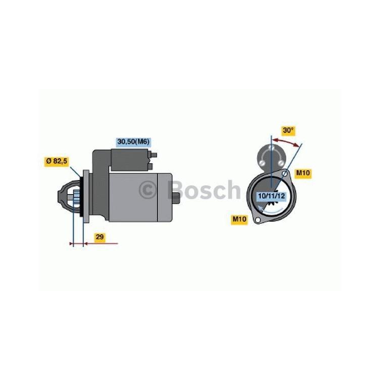 Bosch Anlasser 0986017260 im Autoteile Preiswert Shop kaufen und sparen!