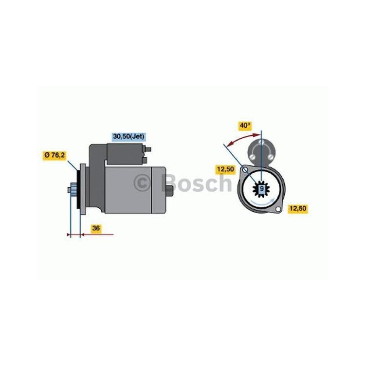 Bosch Anlasser 0986017830 im Autoteile Preiswert Shop kaufen und sparen!