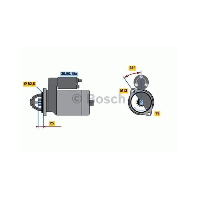 Bosch Anlasser 0986018190 im Autoteile Preiswert Shop kaufen und sparen!