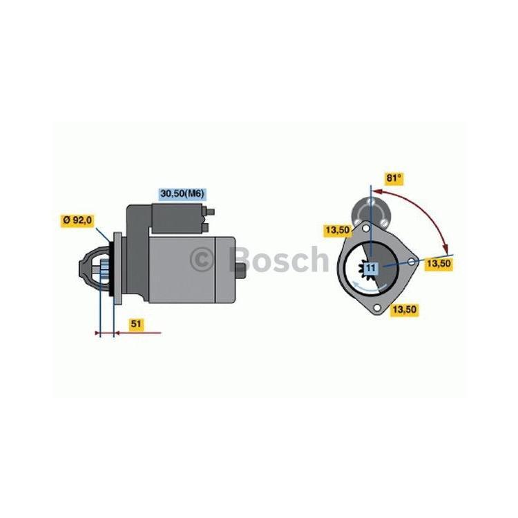 Bosch Anlasser 0986018370 im Autoteile Preiswert Shop kaufen und sparen!
