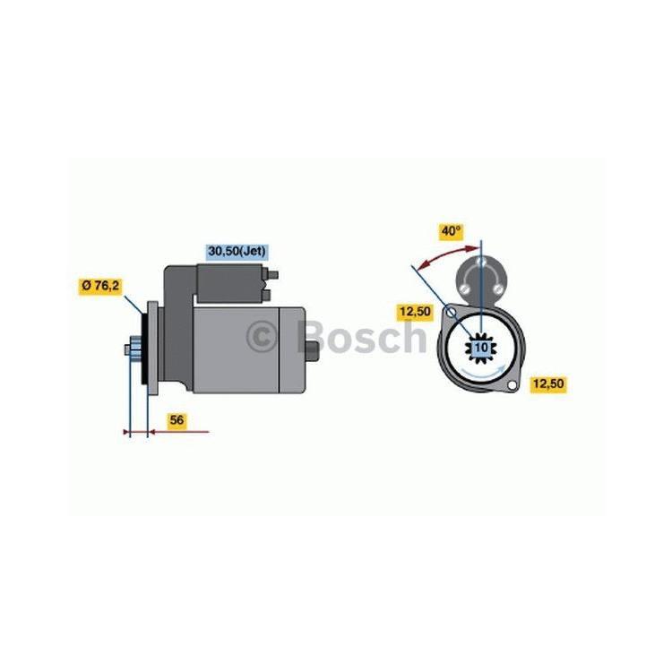 Bosch Anlasser 0986018430 im Autoteile Preiswert Shop kaufen und sparen!