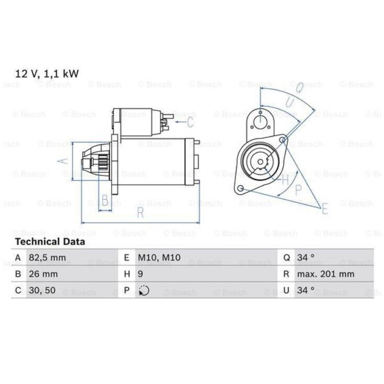 Bosch Anlasser 0986018850 online günstig Autoteile kaufen
