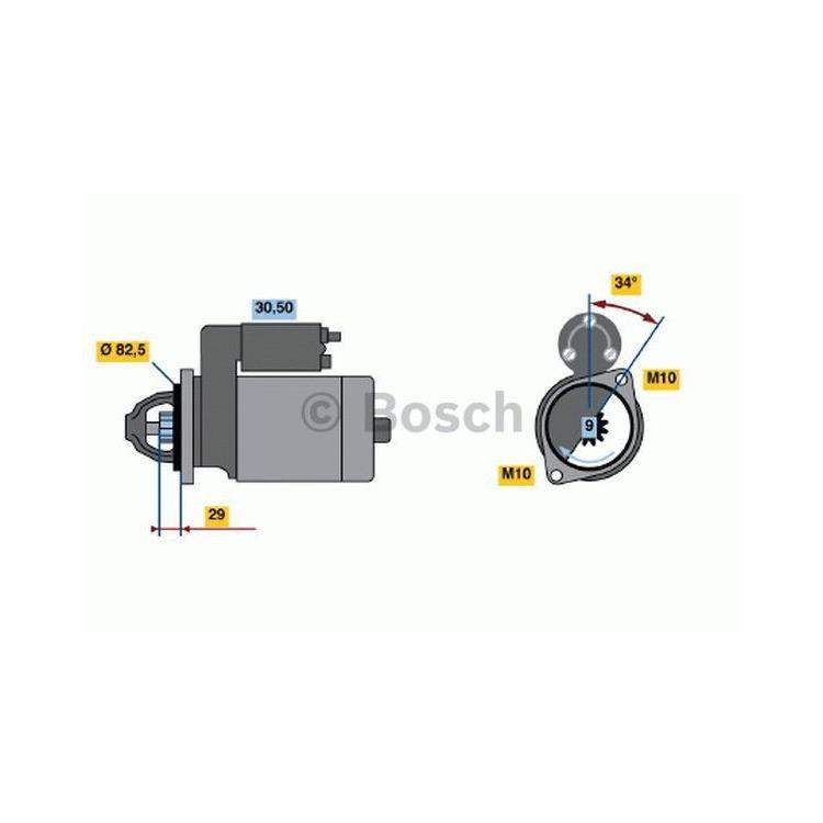 Bosch Anlasser 0986018850 im Autoteile Preiswert Shop kaufen und sparen!