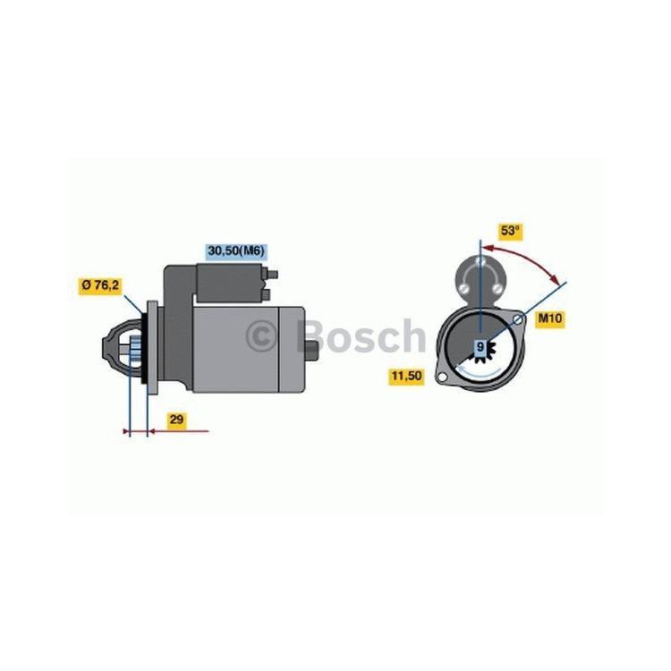 Bosch Anlasser 0986020890 im Autoteile Preiswert Shop kaufen und sparen!