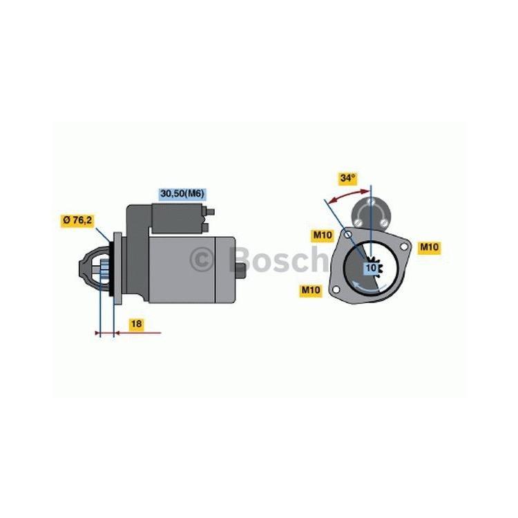 Bosch Anlasser 0986020900 im Autoteile Preiswert Shop kaufen und sparen!