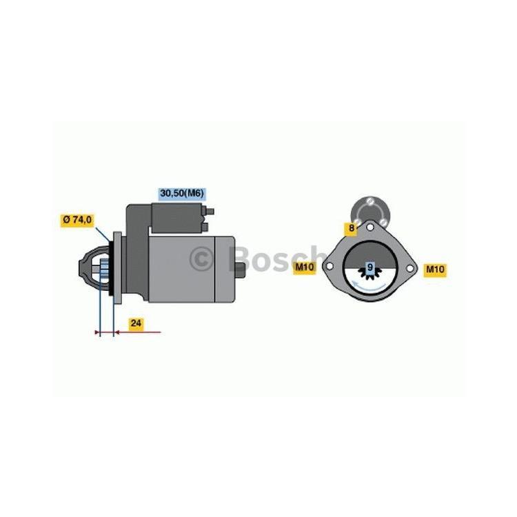 Bosch Anlasser 0986021230 im Autoteile Preiswert Shop kaufen und sparen!