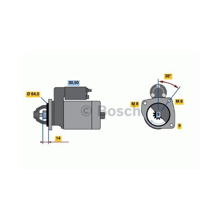 Bosch Anlasser 0986021590 im Autoteile Preiswert Shop kaufen und sparen!