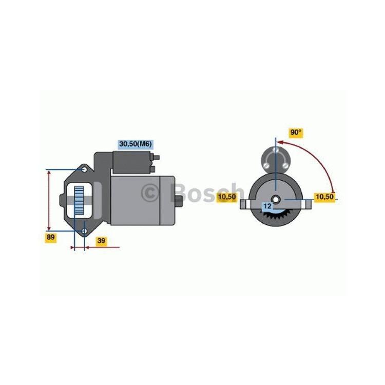 Bosch Anlasser 0986021810 im Autoteile Preiswert Shop kaufen und sparen!
