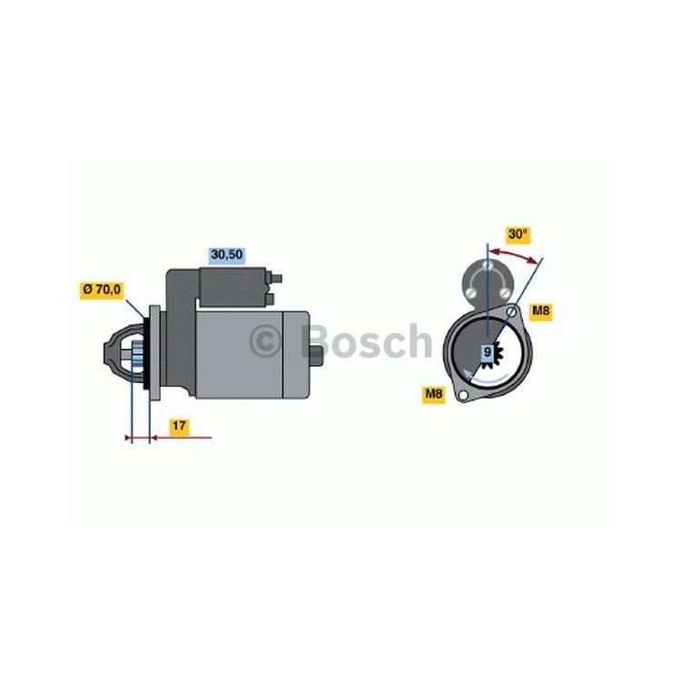 Bosch Anlasser 0986022151 im Autoteile Preiswert Shop kaufen und sparen!