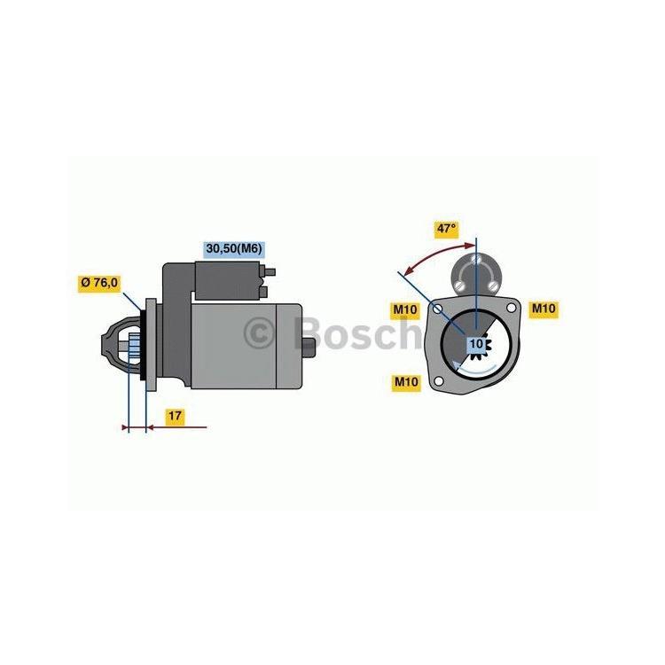 Bosch Anlasser 0986022840 im Autoteile Preiswert Shop kaufen und sparen!
