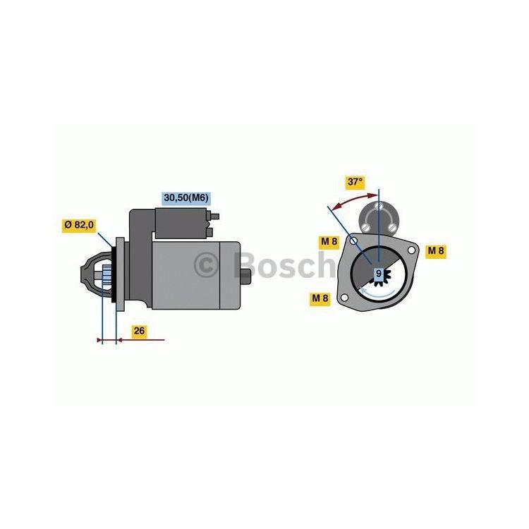Bosch Anlasser  0986023120 im Autoteile Preiswert Shop kaufen und sparen!