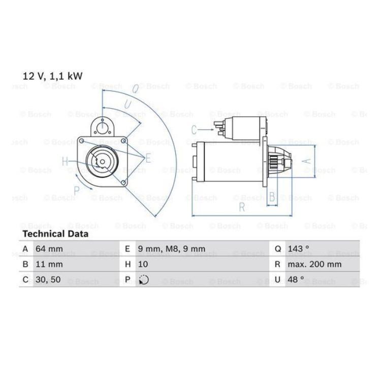 Bosch Anlasser 0986024020 online günstig Autoteile kaufen