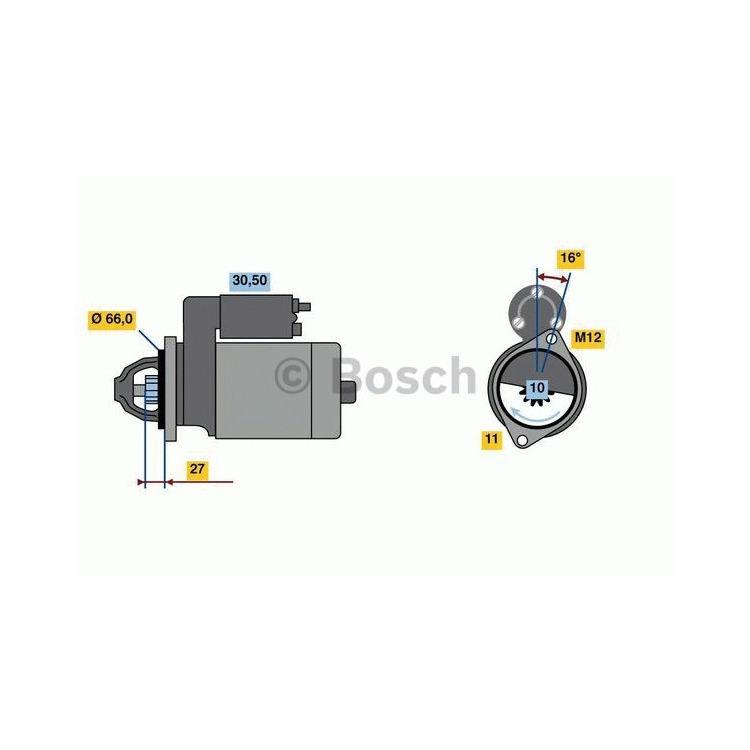 Bosch Anlasser 0986024030 im Autoteile Preiswert Shop kaufen und sparen!