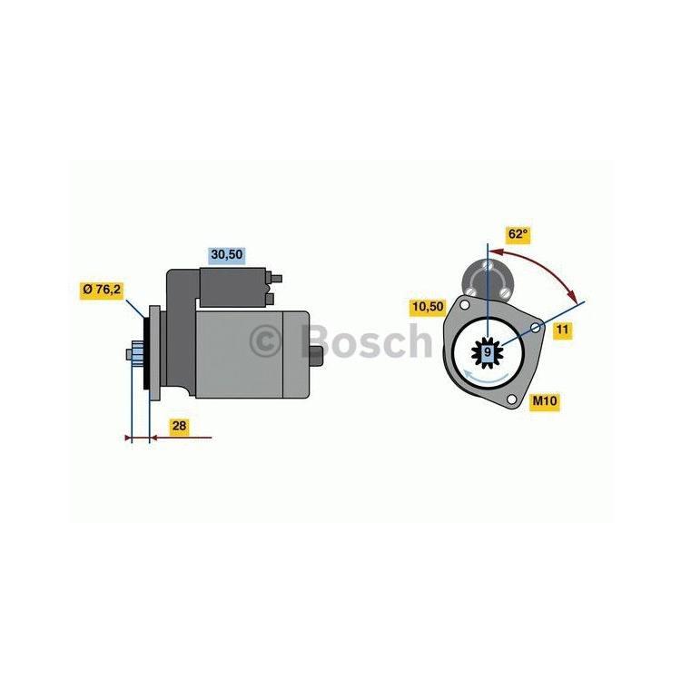 Bosch Anlasser 0986024050 im Autoteile Preiswert Shop kaufen und sparen!