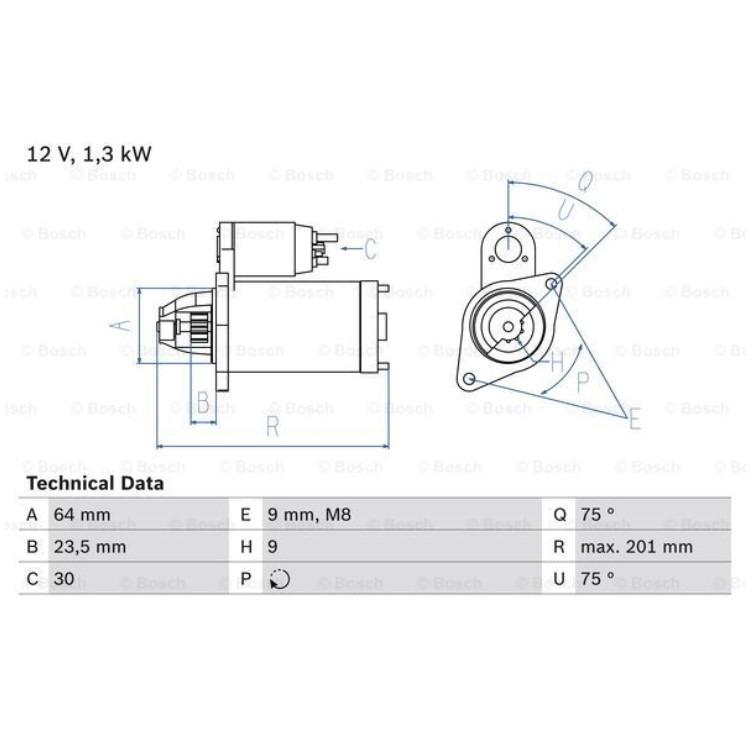 Bosch Anlasser 0986024200 im Autoteile Preiswert Shop kaufen und sparen!