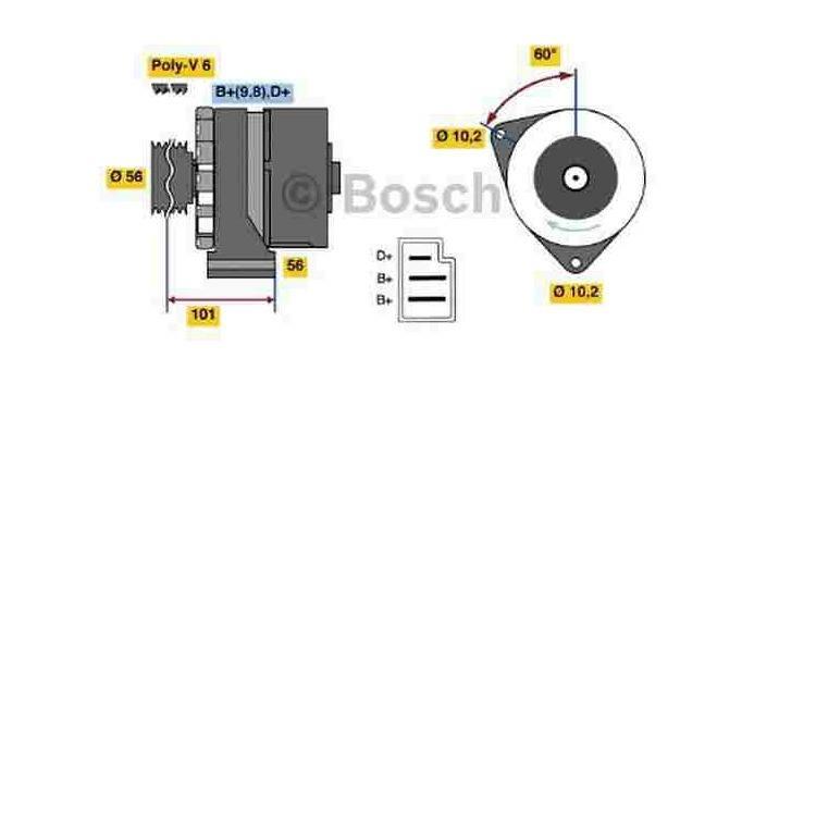 Bosch Lichtmaschine 0986033740 im Autoteile Preiswert Shop kaufen und sparen!