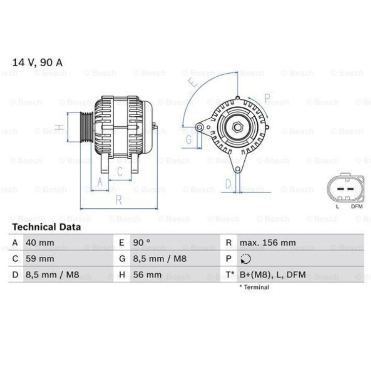 Bosch Lichtmaschine 0986041500 online günstig Autoteile kaufen