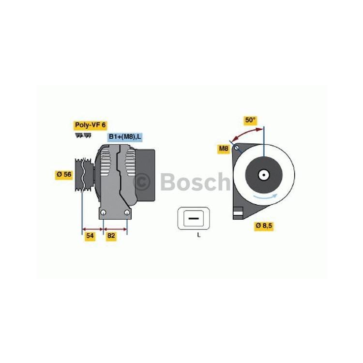 Bosch Lichtmaschine 0986041730 im Autoteile Preiswert Shop kaufen und sparen!
