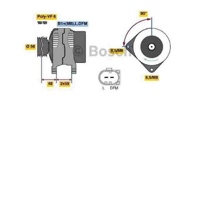 Bosch Lichtmaschine 0986041860 im Autoteile Preiswert Shop kaufen und sparen!