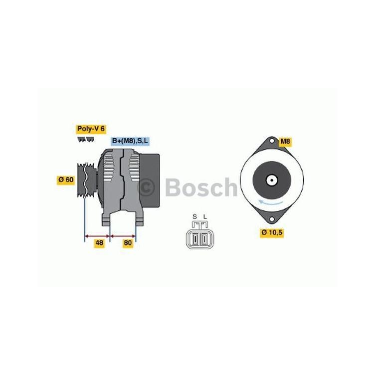 Bosch Lichtmaschine 0986045701 im Autoteile Preiswert Shop kaufen und sparen!