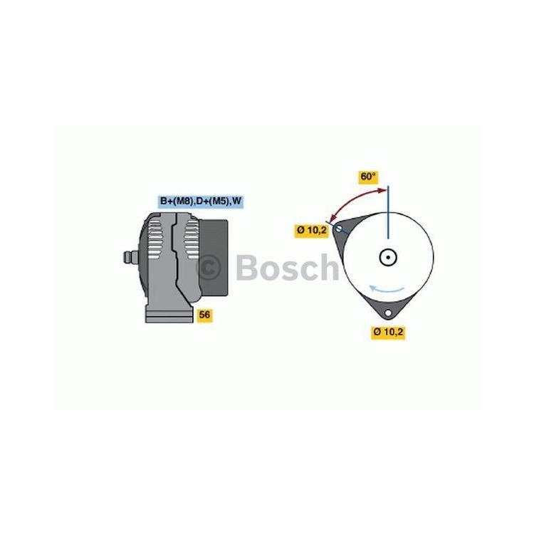 Bosch Lichtmaschine 0986047210 im Autoteile Preiswert Shop kaufen und sparen!