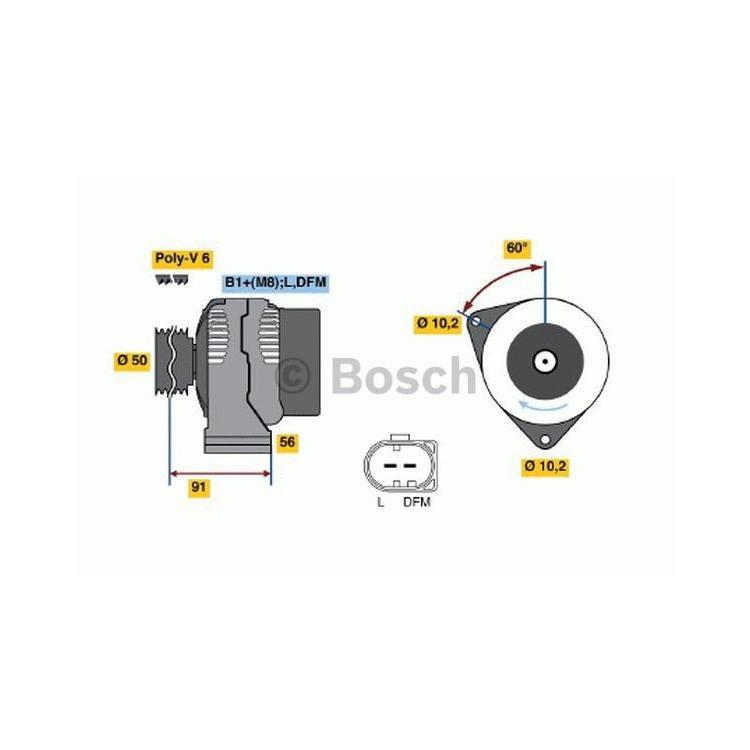 Bosch Lichtmaschine 0986047530 im Autoteile Preiswert Shop kaufen und sparen!