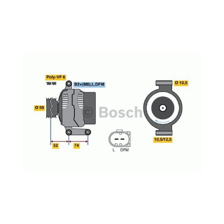 Bosch Lichtmaschine 0986047910 im Autoteile Preiswert Shop kaufen und sparen!