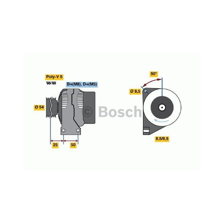 Bosch Lichtmaschine 0986049081 im Autoteile Preiswert Shop kaufen und sparen!