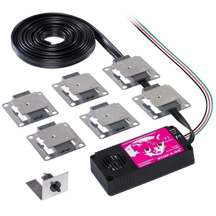 Marderschock Ultraschall + 6 Kontaktplatten