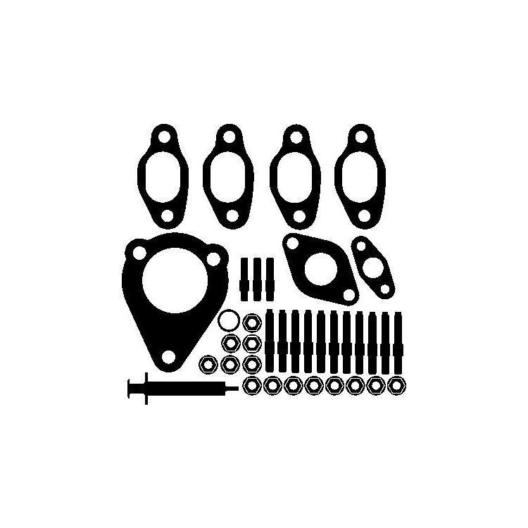 Elring Montagesatz für Turbolader Audi Ford Seat Skoda VW 1.9 TDI