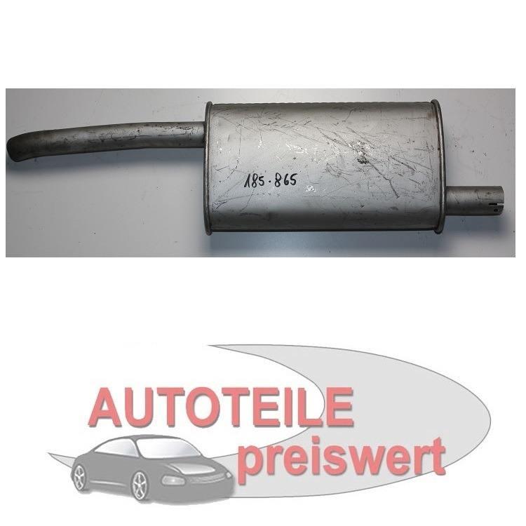 Endschalldämpfer Opel Kadett D Caravan 12N 1,2 Bj. 08/79-07/82