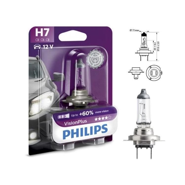 H7 VisionPlus 12V 1 Stück