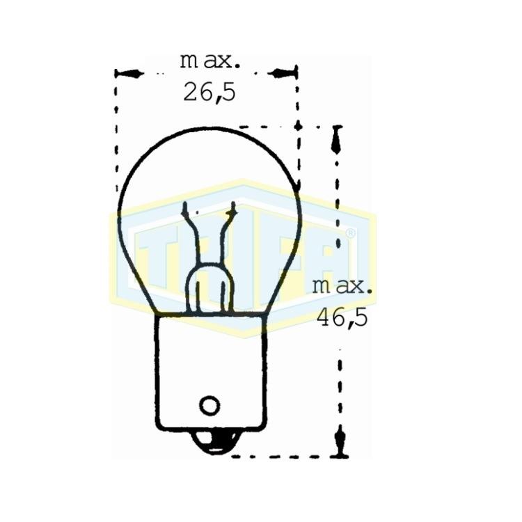 Auto-Lampe 12V 18W