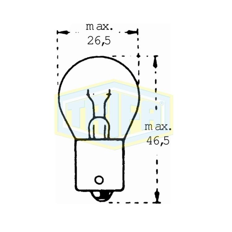 Auto-Lampe 12V18WS im Autoteile Preiswert Shop kaufen und sparen!