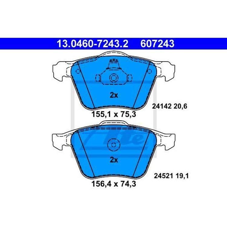 2 Textar Bremsscheiben 316mm vorne Ford Galaxy S Max Volvo S60 S80 V60 V70 XC70